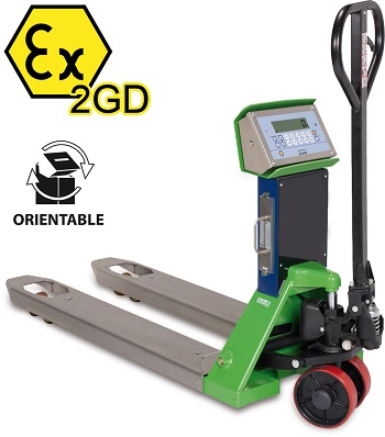 ATEX Pallet Truck Scales