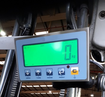 Fork Truck Weight Indicator