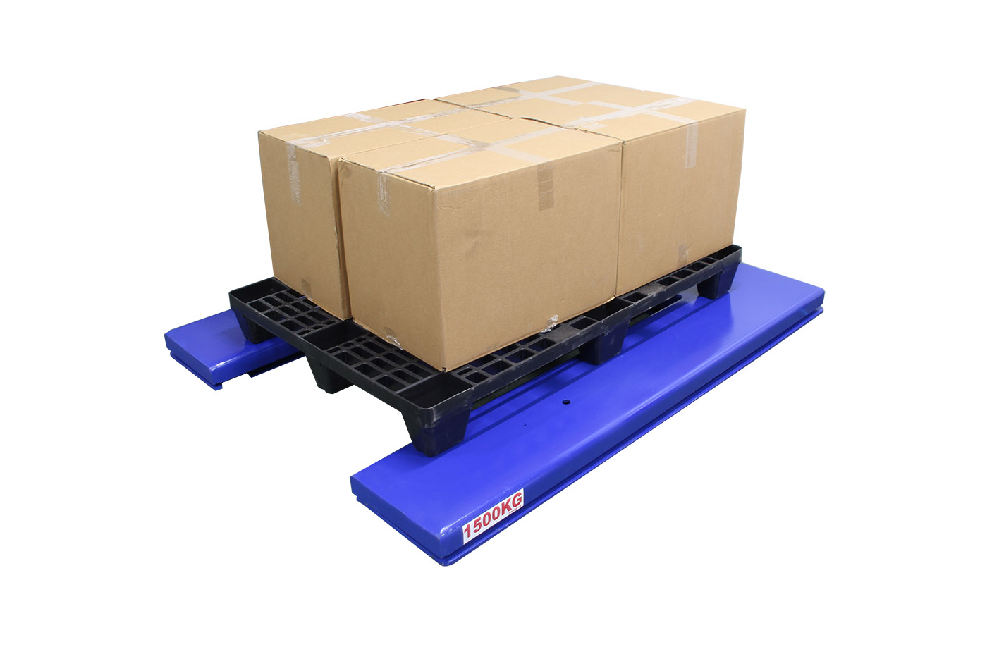 Adjustable Height Scale for Loading at Safe Working Heights large image