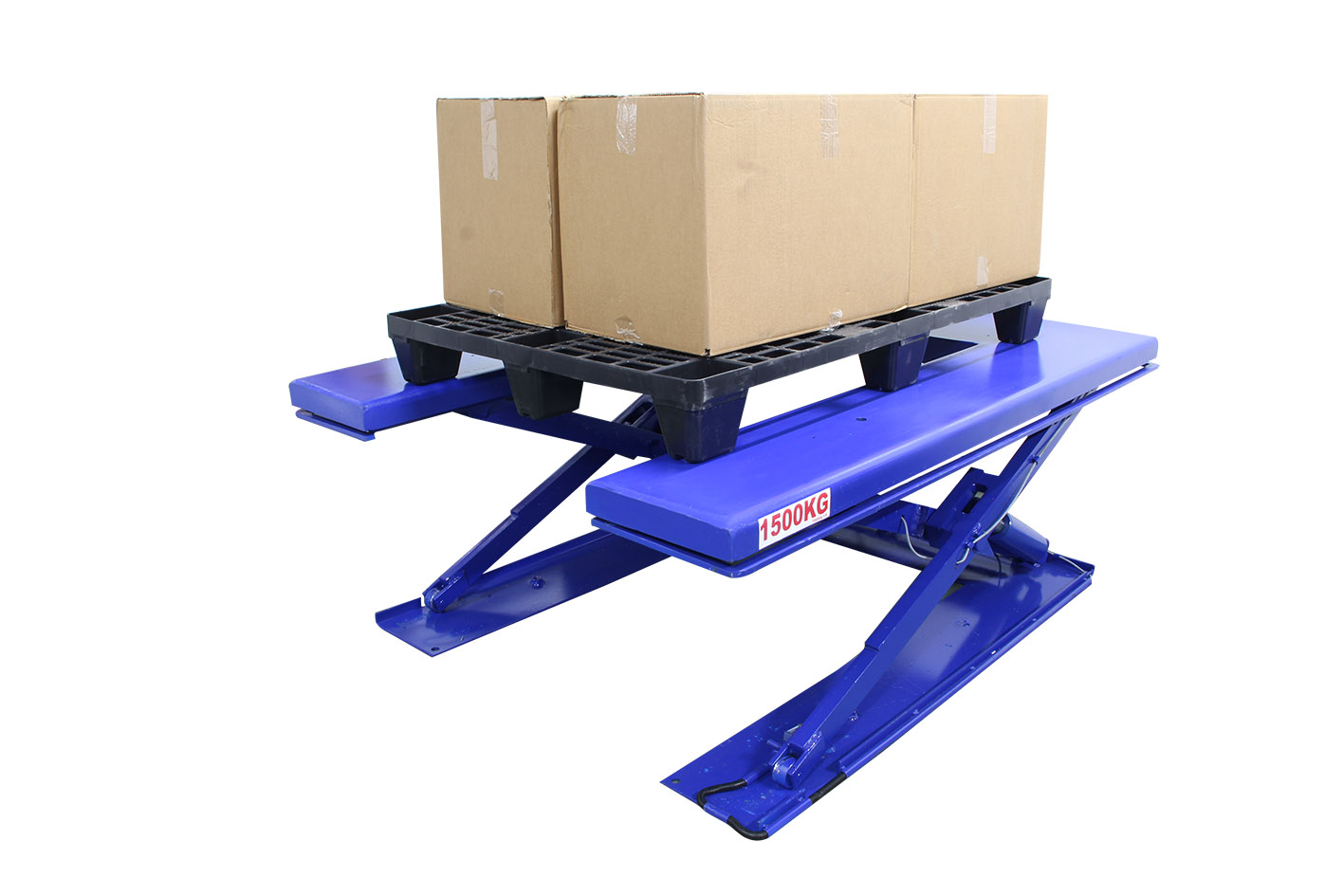 Adjustable Height Scale for Loading at Safe Working Heights