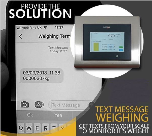 Weight Monitoring with Texts